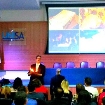 Palestrante Especialista em Vendas e Motivação com Palestras Paul&Jack para UNISA