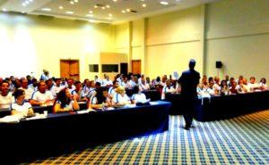 Diferença entre palestra e treinamento de vendas