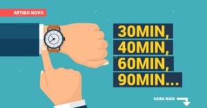 Quanto tempo dura uma palestra motivacional?