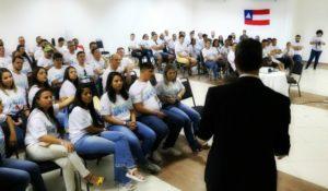 PALESTRA SOBRE MOTIVAÇÃO COMEMORATIVA DE FIM DE ANO PARA TODOS OS COLABORADORES DO GRUPO CAMAROTTI EM GRAVATA – PE